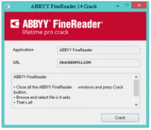 ABBYY FineReader 14.5.155 Crack & Activation Key 2018 Free Download