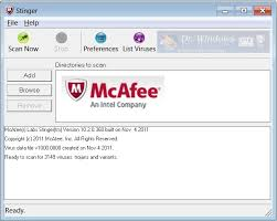 McAfee Labs Stinger 12.1.0.2837 Crack & Serial Key 2018 Download