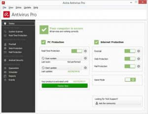 Avira Antivirus Pro 2021 Crack & Serial Key Download Free [Win+MAC]