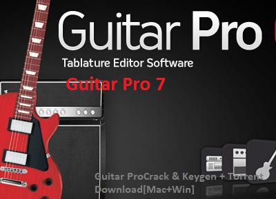 Guitar Pro 7.5.5 Crack & Keygen + 2021 Download [Mac+Win]